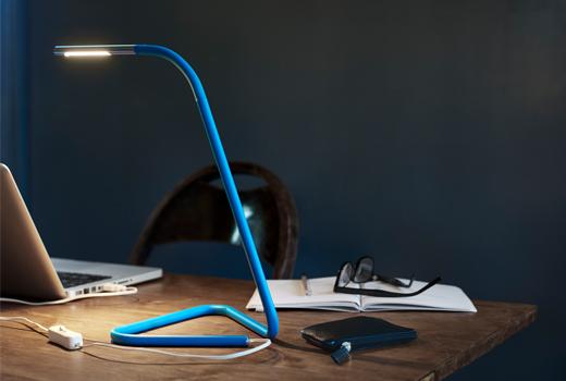 Lampe de bureau rose gold ikea: ikea table lamp fado grey youtube